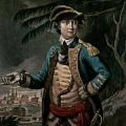 Benedict Arnold Print by English School