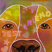 Best Friend Print by Roger Wedegis