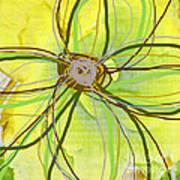 Big Pop Floral II Print by Ricki Mountain