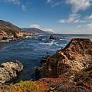 Big Sur Vista Print by Mike Reid