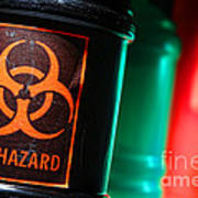 Biohazard Print by Olivier Le Queinec