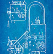 Bird Respirator Patent Art 1962 Blueprint Print by Ian Monk