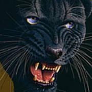 Black Panther 2 Print by Jurek Zamoyski