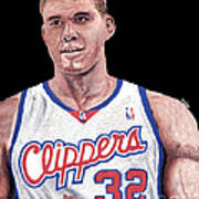 Blake Griffin Print by Israel Torres