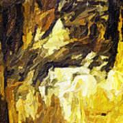 Blanchard Springs Caverns-arkansas Series 02 Print by David Allen Pierson