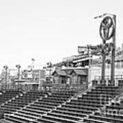 Bleachers Print by David Bearden