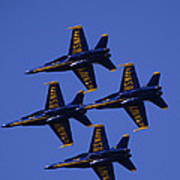 Blue Angels Print by Bill Gallagher
