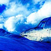 Blue Hudson Print by motography aka Phil Clark