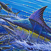 Blue Persuader  Print by Carey Chen