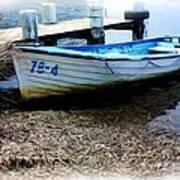 Boat 78-4 Print by Ian  Ramsay