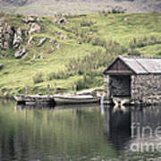 Boathouse Print by Jane Rix