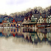 Boathouse Row Philadelphia Print by Tom Gari Gallery-Three-Photography