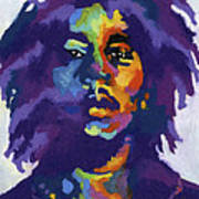 Bob Marley Print by Stephen Anderson
