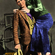 Bonnie And Clyde 20130515 Print by Wingsdomain Art and Photography