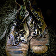 Boots That Grunt  Print by Steven  Digman