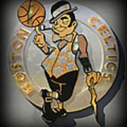 Boston Celtics Print by Stephen Stookey
