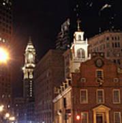 Boston History Print by Joann Vitali