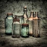 Bottles II Print by Timothy Bischoff