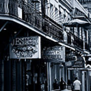 Bourbon Street New Orleans Print by Christine Till