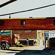 Box Factory Print by Edward Hopper