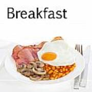 Breakfast Concept Print by Colin and Linda McKie