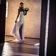 Bride. In Color Print by Jenny Rainbow