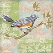 Brocade Songbird Iv Print by Paul Brent
