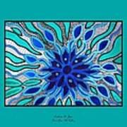 Broken Angel Blooms Print by Barbara St Jean