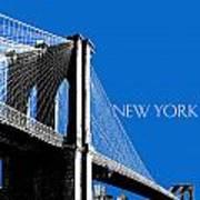 Brooklyn Bridge Print by DB Artist
