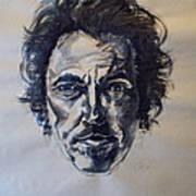 Bruce Springsteen Print by Dan Engh