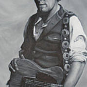 Bruce Springsteen I Print by David Dunne