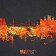 Budapest Hungary Print by Aged Pixel