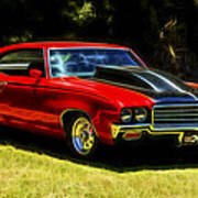 Buick Gsx Print by motography aka Phil Clark