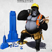 Building An Empire Print by Rob Snow
