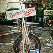 Burma Shave Sign Print by RicardMN Photography