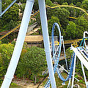 Busch Gardens - 121226 Print by DC Photographer