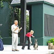 Busch Gardens - Animal Show - 121215 Print by DC Photographer