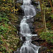Buttermilk Falls In Autumn Print by Stephen  Vecchiotti