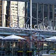 Cactus Club Cafe II Print by Chris Dutton