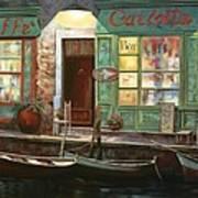 caffe Carlotta Print by Guido Borelli