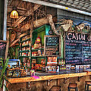 Cajun Cafe Print by Brenda Bryant