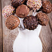 Cake Pops Print by Jane Rix