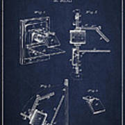 Camera Obscura Patent Drawing From 1881 Print by Aged Pixel