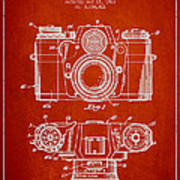 Camera Patent Drawing From 1962 Print by Aged Pixel