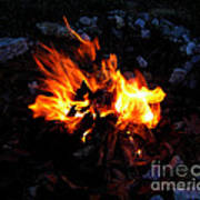 Campfire Print by Boon Mee