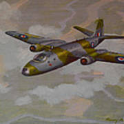 Canberra Sortie Print by Murray McLeod