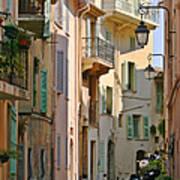 Cannes - Le Suquet - France Print by Christine Till