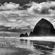 Cannon Beach On The Oregon Coast Print by David Patterson