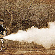 Cannon Fire Print by Mark Miller
