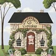 Canterbury Cupcakes Print by Catherine Holman